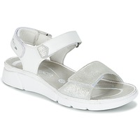 Shoes Women Sandals Allrounder by Mephisto TABASA White / Silver