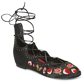 Shoes Women Flat shoes Ash INDRA Black