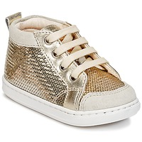 Shoes Girl Hi top trainers Shoo Pom BOUBA NEW COVER Gold