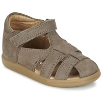 Shoes Boy Sandals Shoo Pom PIKA BOY Taupe