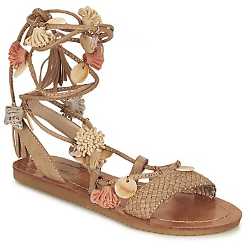 Shoes Women Sandals Elue par nous ZECTEUR BEIGE