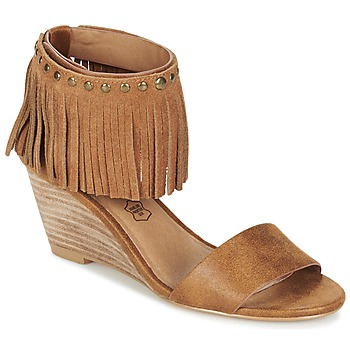 Shoes Women Sandals Les Petites Bombes NADIA Camel