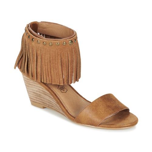 Shoes Women Sandals LPB Shoes NADIA Camel