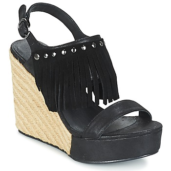 Shoes Women Sandals Les P'tites Bombes SABINE Black