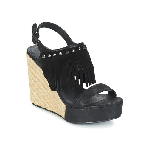 Shoes Women Sandals Les Petites Bombes SABINE Black