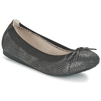 Shoes Women Flat shoes Moony Mood ELALA Black