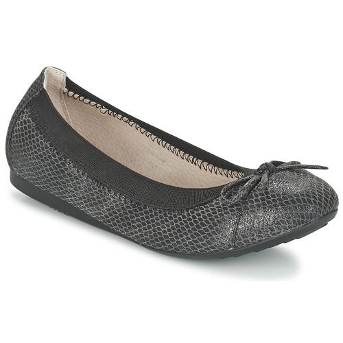 Shoes Women Flat shoes Moony Mood ELALA Black