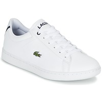 Shoes Children Low top trainers Lacoste CARNABY EVO BL 1 White