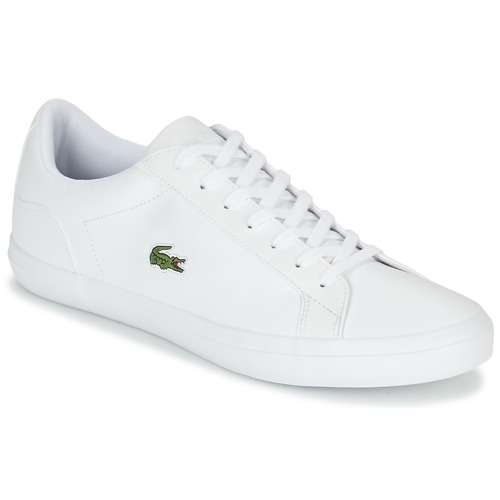 880389bd8a652b Lacoste LEROND BL 1 White - Free delivery with Spartoo UK ! - Shoes ...