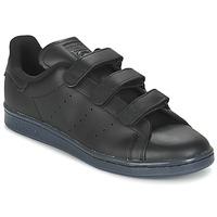 Shoes Men Low top trainers adidas Originals STAN SMITH CF Black