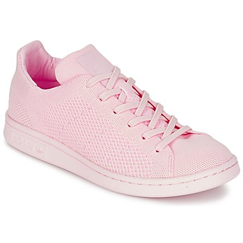 Shoes Women Low top trainers adidas Originals STAN SMITH PK Pink