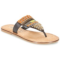 Shoes Women Flip flops Tamaris NIRI Brown