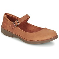 Shoes Women Flat shoes Art BERGEN Brown