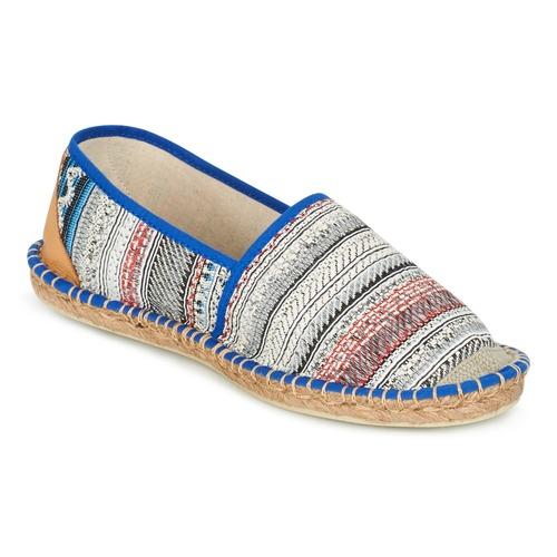 Shoes Women Espadrilles Art of Soule BOHEMIAN Blue