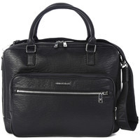 Bags Men Handbags Armani jeans BRIEFCASE BLACK Nero