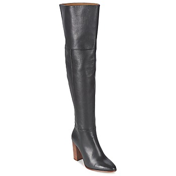 Shoes Women Thigh boots Fericelli NIRI Black
