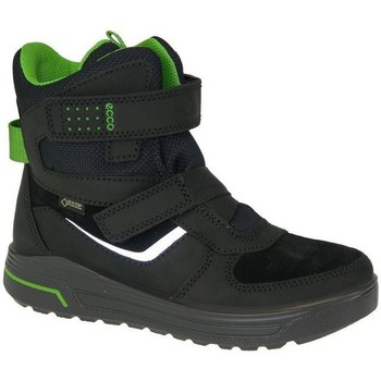 Shoes Boy Hi top trainers Ecco Urban Snowboarder Goretex Black