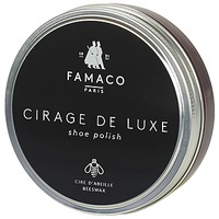 Shoe accessories Shoepolish Famaco Boite de cirage de luxe bordeaux 100 ml BORDEAUX