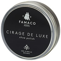 Shoe accessories Shoepolish Famaco Boite de cirage de luxe marron foncé 100 ml Brown / Dark