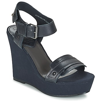 Shoes Women Sandals G-Star Raw CLARO WEDGE Marine