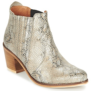 Shoes Women Ankle boots Coqueterra SHEILA Beige