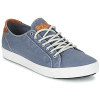 Shoes Men Low top trainers Blackstone NM95 INDIGO