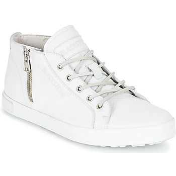 Shoes Women Hi top trainers Blackstone NL35 White