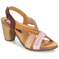 Shoes Women Sandals Bunker LIZ Brown