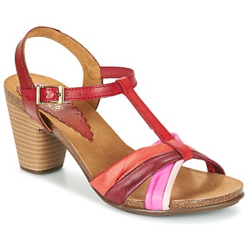 Shoes Women Sandals Bunker LIZ Red