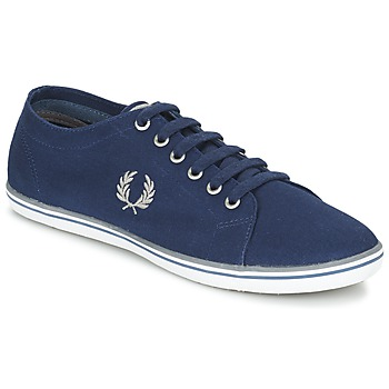 Shoes Men Low top trainers Fred Perry KINGSTON TWILL Marine