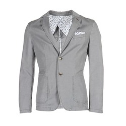 Clothing Men Jackets / Blazers Benetton MASKIOL Grey