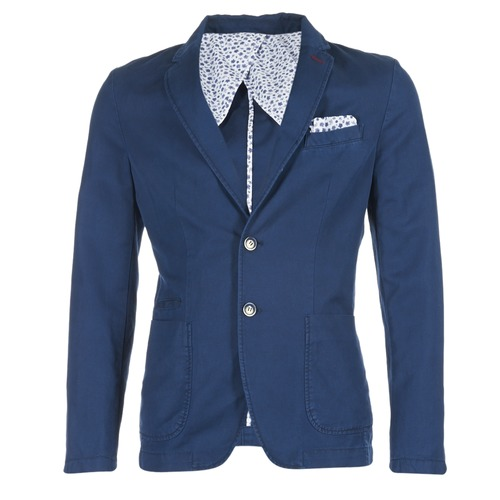 Clothing Men Jackets / Blazers Benetton MASKIOL Marine