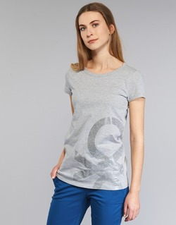 Clothing Women short-sleeved t-shirts Benetton MADOUL Grey