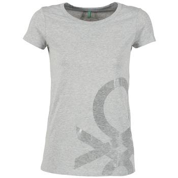 Clothing Women short-sleeved t-shirts Benetton MADOUL Grey