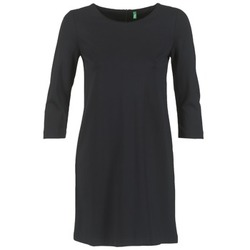 Clothing Women Short Dresses Benetton SAVONI Black