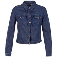 Clothing Women Denim jackets Benetton FESCAR Blue / Dark