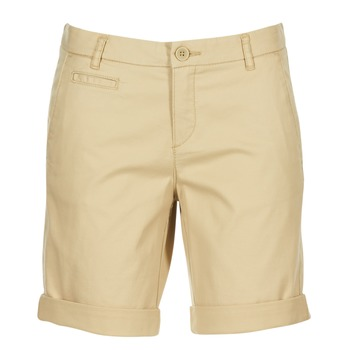 Clothing Women Shorts / Bermudas Benetton JAVIN BEIGE