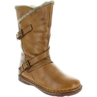 Shoes Women High boots Lotus Jolanda Tan Leather
