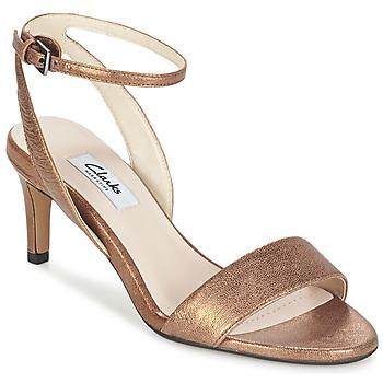 Shoes Women Sandals Clarks AMALI JEWEL Gold