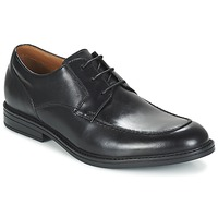 Shoes Men Derby Shoes Clarks BECKFIELDAPRON Black