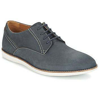 Shoes Men Derby Shoes Clarks FRANSON PLAIN Blue