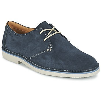 Shoes Men Derby Shoes Clarks JARETH WALK Blue