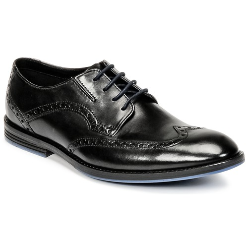 Shoes Men Derby Shoes Clarks PRANGLEY LIMIT Black