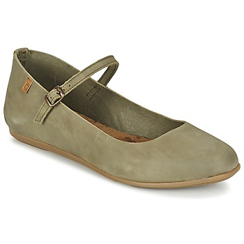 Shoes Women Flat shoes El Naturalista STELLA Grey / KAKI