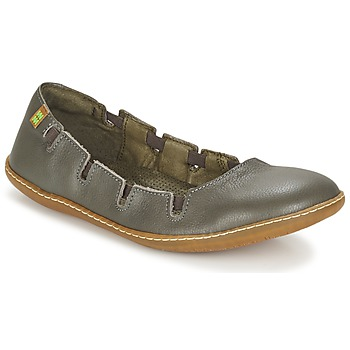Shoes Women Flat shoes El Naturalista EL VIAJERO Grey