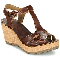 Shoes Women Sandals Fly London GOLDY Brown