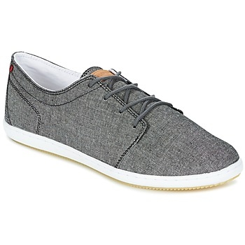Shoes Men Low top trainers Lafeyt DERBY CHAMBRAY Black