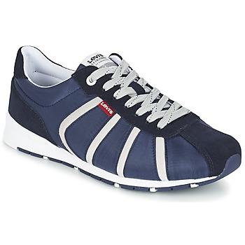 Shoes Men Low top trainers Levi's ALMAYER II NAVY / BLUE