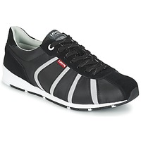 Shoes Men Low top trainers Levi's ALMAYER II Black / White