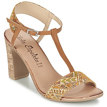 Shoes Women Sandals Lola Espeleta GIULIA COGNAC